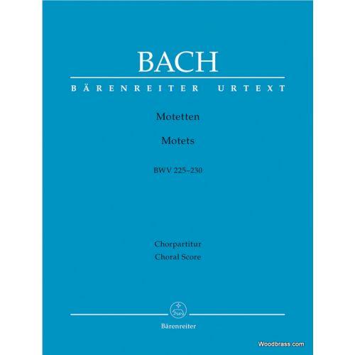 BARENREITER BACH J.S. - MOTETTEN BWV 225-230 - CHOEUR