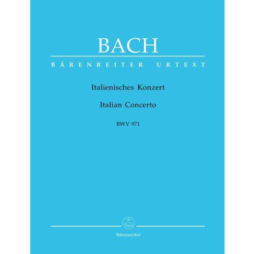 BARENREITER BACH J.S. - ITALIENISCHES KONZERT BWV 971