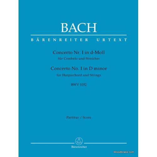 BARENREITER BACH J.S. - CONCERTO N°1 IN D-MOLL BWV 1052