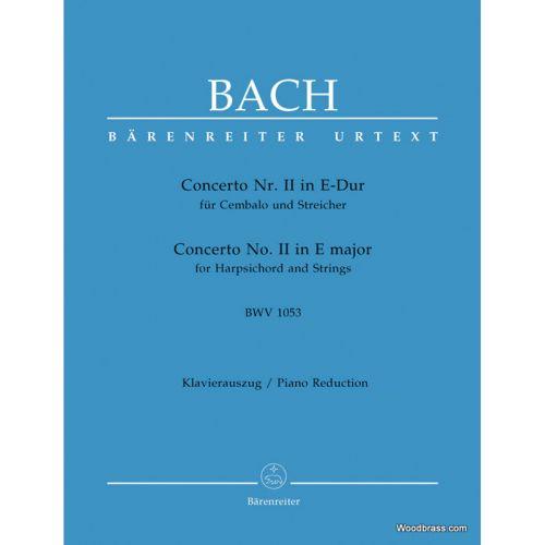 BARENREITER BACH J.S. - CONCERTO Nr. II IN E-DUR BWV 1053