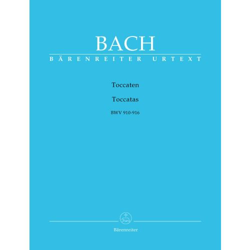 BARENREITER BACH J. S. - TOCCATEN BWV 910-916 - CLAVECIN (PIANO)