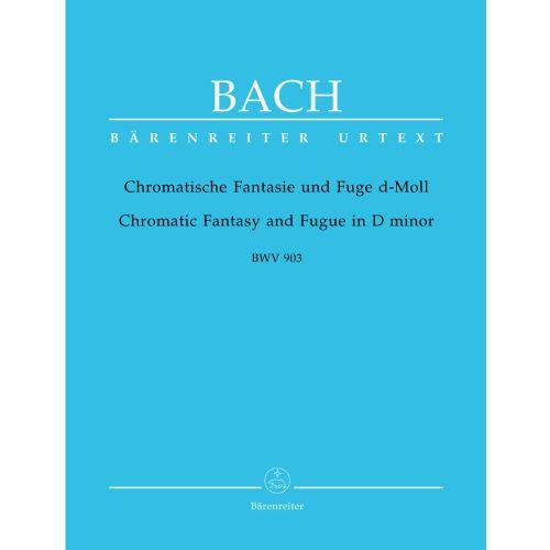 BARENREITER BACH J.S. - CHROMATISCHE FANTASIE UND FUGE D-MOLL BWV 903 - PIANO