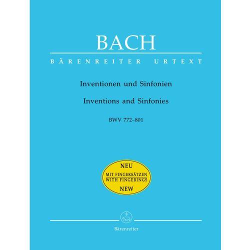 BARENREITER BACH J.S. - INVENTIONEN UND SINFONIEN BWV 772-801