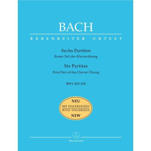 BARENREITER BACH J.S - SIX PARTITAS BWV 825-830 - PIANO