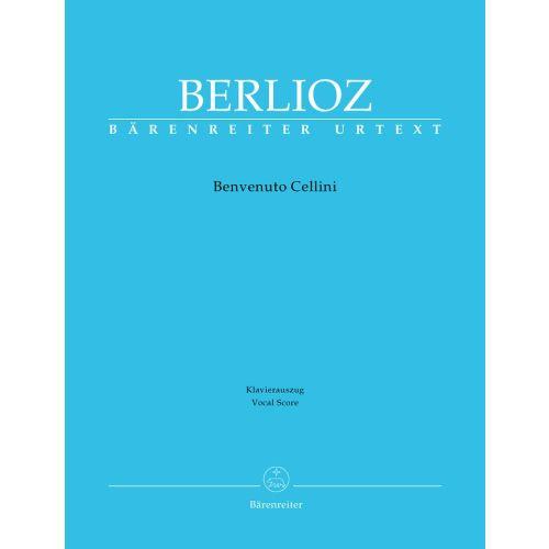 BARENREITER BERLIOZ HECTOR - BENVENUTO CELLINI HOLOMAN 76 - CHANT, PIANO