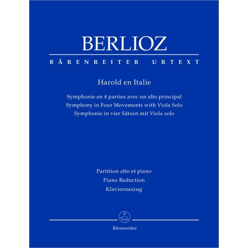 BARENREITER BERLIOZ HECTOR - HAROLD EN ITALIE HOL.68 - VIOLA, KLAVIER