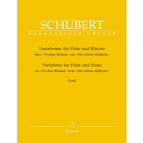 BARENREITER SCHUBERT F. - VARIATIONS ON