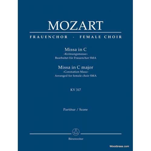 BARENREITER MOZART W.A. - MISSA BREVIS IN C