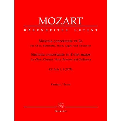BARENREITER MOZART W.A. - SINFONIA CONCERTANTE IN E-FLAT MAJOR KV ANH. I, 9 (297B) - SCORE