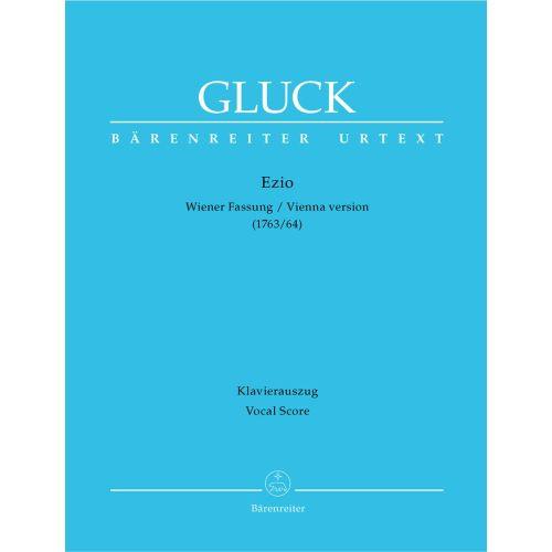 BARENREITER GLUCK C.W. - EZIO, VIENNA VERSION - VOCAL SCORE