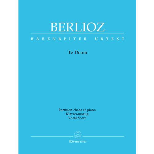 BARENREITER BERLIOZ HECTOR - TE DEUM - VOCAL SCORE