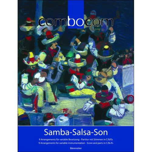 BARENREITER COMBOCOM - SAMBA-SALSA-SON - SCORE AND PARTS