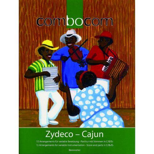 BARENREITER COMBOCOM - ZYDECO-CAJUN - SCORE AND PARTS