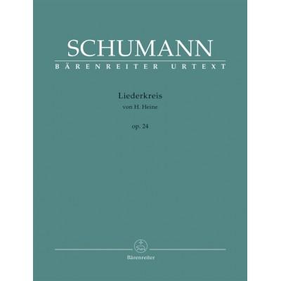 BARENREITER SCHUMANN R. - LIEDERKREIS VON H. HEINE OP.24