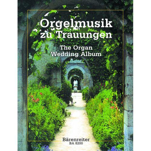 BARENREITER ORGELMUSIK ZU TRAUUNGEN
