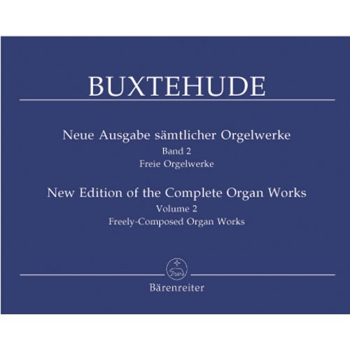 BARENREITER BUXTEHUDE D. - NEUE AUSGABE SÄMTLICHER ORGELWERKE BAND 2