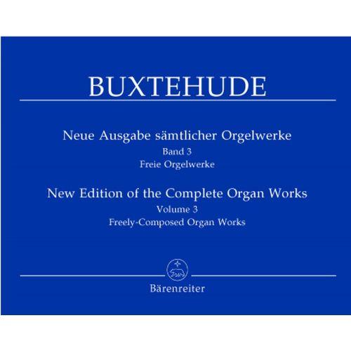 BARENREITER BUXTEHUDE DIETRICH - NEUE AUSGABE SAMTLICHER ORGELWERKE VOL. 3 - ORGEL