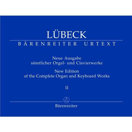 BARENREITER LUBECK VINCENT - NEUE AUSGABE SAMLICHER ORGEL- UND CLAVIERWERKE, BAND 2 - ORGEL / CEMBALO / KLAVIER