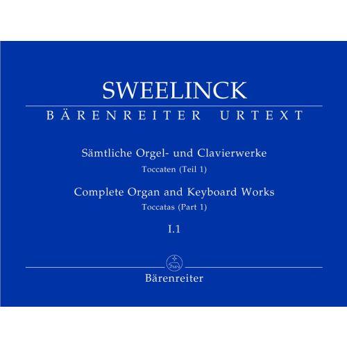 BARENREITER SWEELINCK - SAMTLICHE ORGEL- UND CLAVIERWERKE, BAND I.1, TOCCATEN (TEIL 1) - ORGEL
