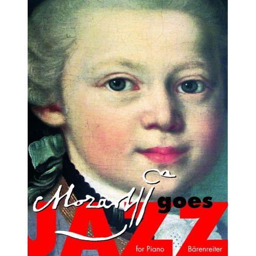 BARENREITER MOZART GOES JAZZ - PIANO