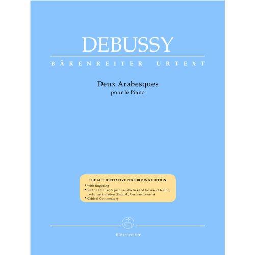 BARENREITER DEBUSSY CLAUDE - DEUX ARABESQUES - PIANO