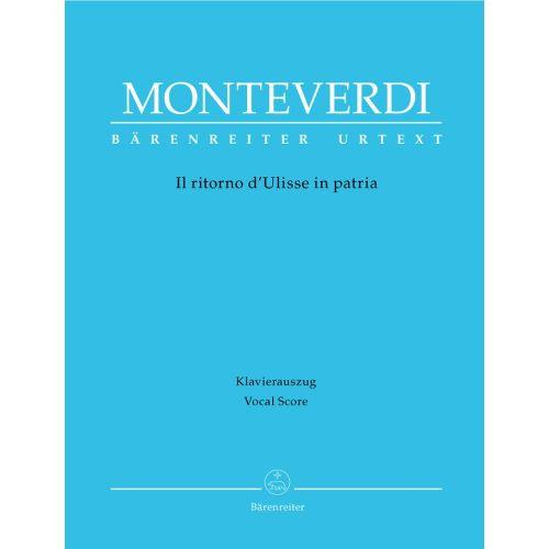 BARENREITER MONTEVERDI, CLAUDIO - IL RITORNO D'ULISSE IN PATRIA