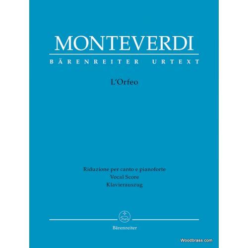 BARENREITER MONTEVERDI C. - L'ORFEO - VOCAL SCORE