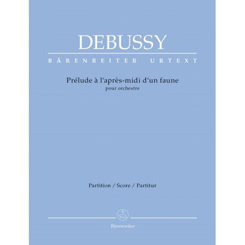 BARENREITER DEBUSSY C. - PRELUDE A L'APRES-MIDI D'UN FAUNE - CONDUCTEUR
