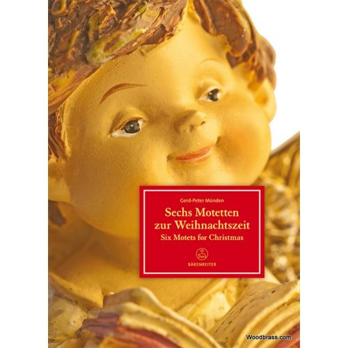 BARENREITER MUNDEN GERD-PETER - SIX MOTETS FOR CHRISTMAS
