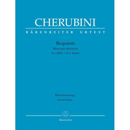BARENREITER CHERUBINI L. - REQUIEM - VOCAL SCORE