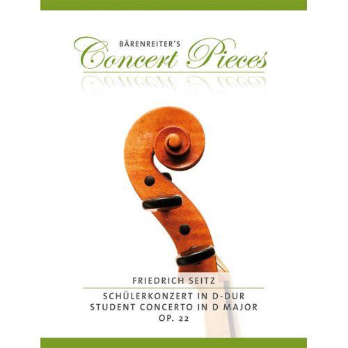 BARENREITER RIEDING O. - MARCIA OP.44 & RONDO OP.22/3 - VIOLON & PIANO