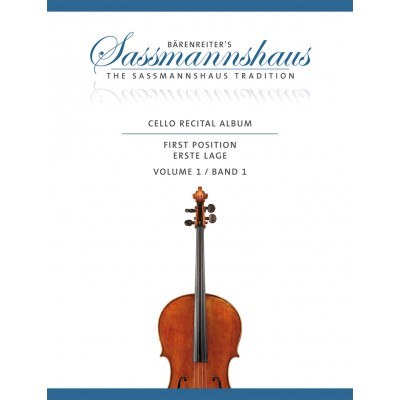 BARENREITER SASSMANHAUS - CELLO RECITAL ALBUM VOL.1