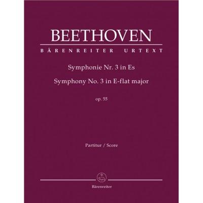 BARENREITER BEETHOVEN L.V. - SYMPHONIE N.3 OP.55
