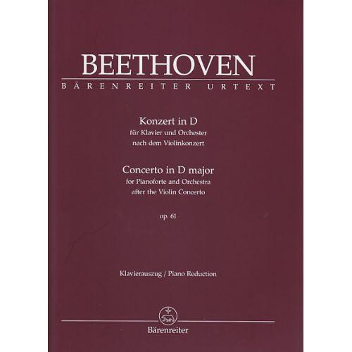 BARENREITER BEETHOVEN - KONZERT IN D OP.61