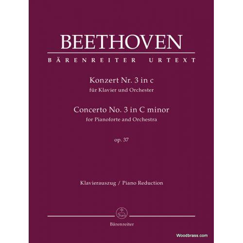 BARENREITER BEETHOVEN L.V. - KLAVIERKONZERT Nr. 3 IN C OP.37 - 2 PIANOS