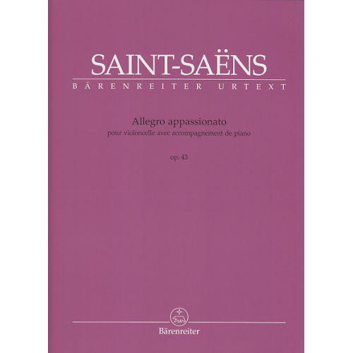 BARENREITER SAINT-SAËNS - ALLEGRO APPASSIONATO OP.43