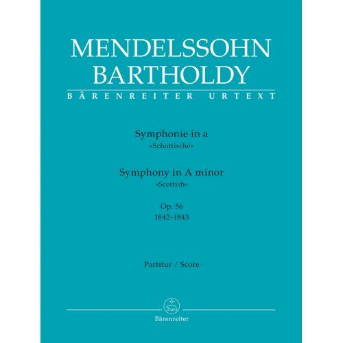BARENREITER MENDELSSOHN - SYMPHONY A MINOR OP.56