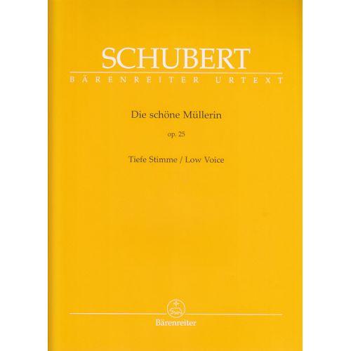BARENREITER SCHUBERT F. - DIE SCHONE MULLERIN - VOIX BASSE ET PIANO