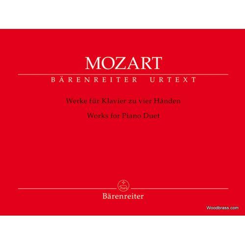 BARENREITER MOZART W.A. - WORKS FOR PIANO DUET