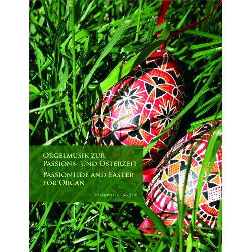 BARENREITER PASSIONTIDE AND EASTER FOR ORGAN - ORGAN