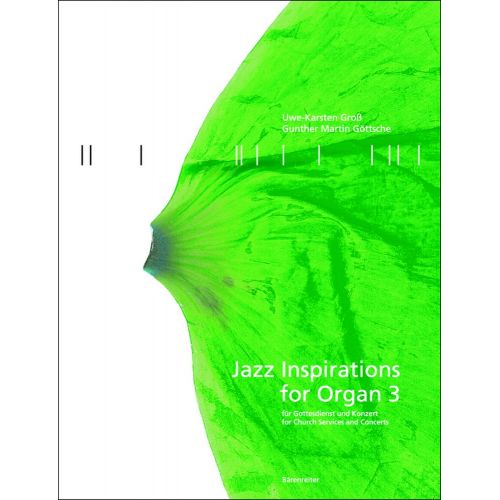 BARENREITER JAZZ INSPIRATION FOR ORGAN 3 - ORGEL