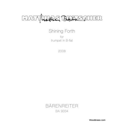 BARENREITER PINTSCHER M. - SHINING FORTH - TROMPETTE