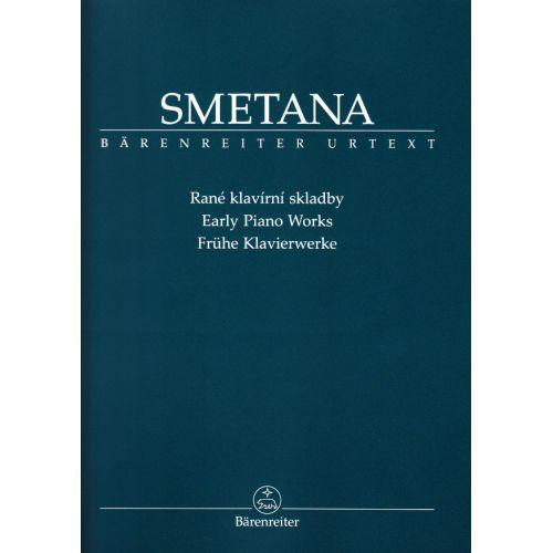 BARENREITER SMETANA BEDRICH - EARLY PIANO WORKS