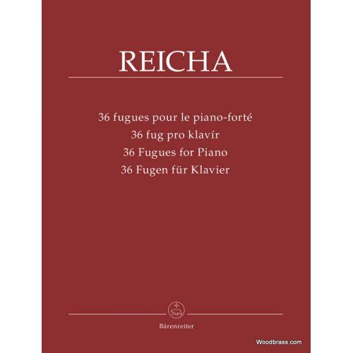 BARENREITER REJCHA A. - 36 FUGUES FOR PIANO