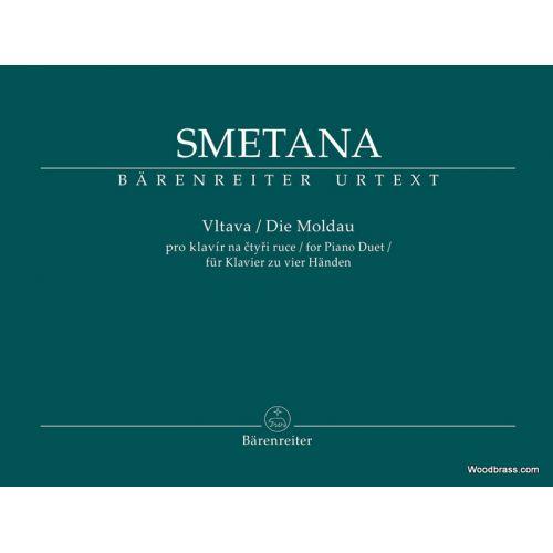 BARENREITER SMETANA B. - DIE MOLDAU - 2 PIANOS