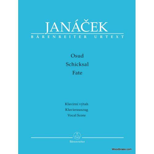BARENREITER JANACEK L. - FATE - VOCAL SCORE