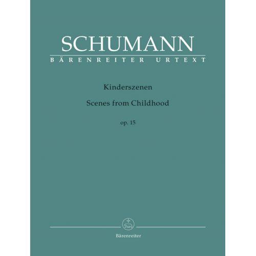 BARENREITER SCHUMANN R. - KINDERSZENEN OP.15