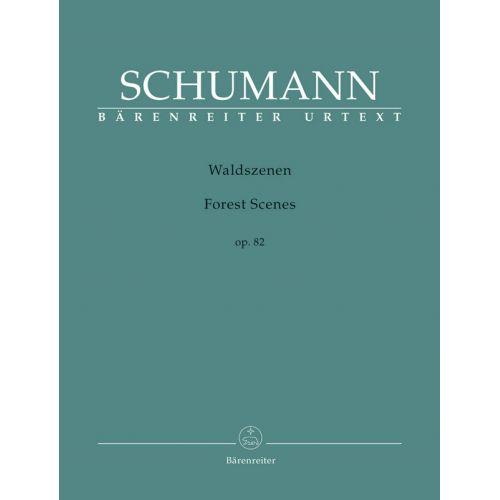 BARENREITER SCHUMANN R. - WALDSZENEN OP.82
