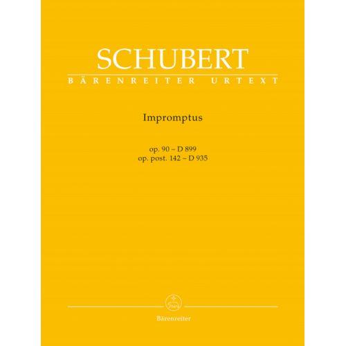 BARENREITER SCHUBERT - IMPROMPTUS OP.90 (D899) & OP.POST.142 (D935)