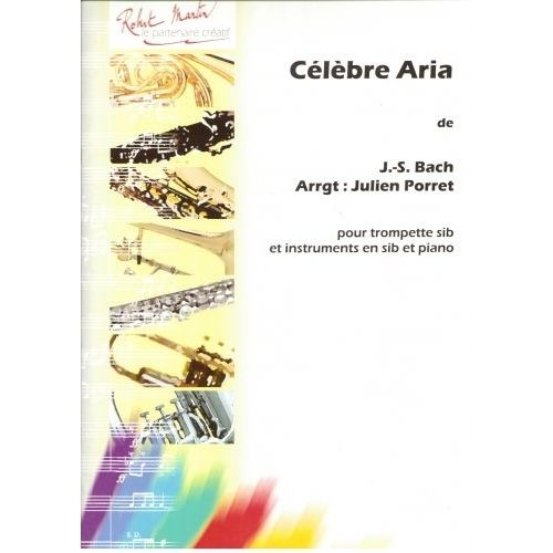 ROBERT MARTIN BACH J.S. - CÉLÈBRE ARIA, EXTRAIT DE LA SUITE EN RÉ